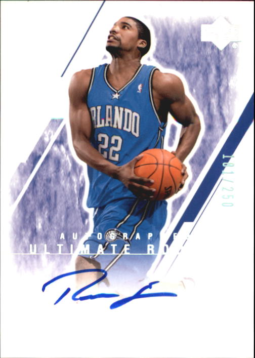 2003-04 Ultimate Collection #138 Reece Gaines AU RC