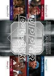 2003-04 Exquisite Collection Foursomes #JABW LeBron James/Carmelo Anthony/Chris Bosh/Dwyane Wade