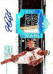2003-04 Exquisite Collection Noble Nameplates #LJ LeBron James