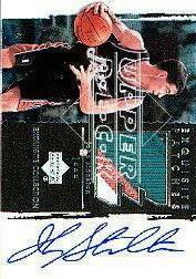 2003-04 Exquisite Collection Patches Autographs #JS John Stockton
