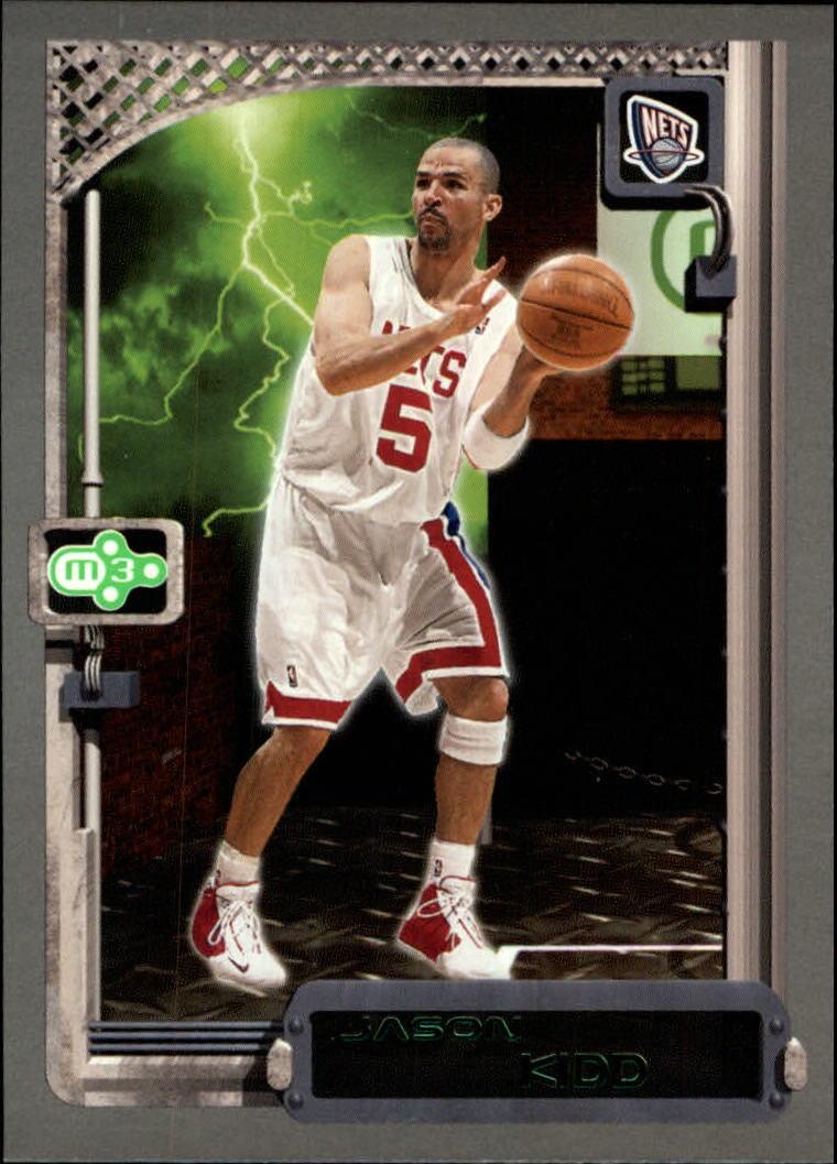 2003 04 Topps Rookie Matrix 78 Jason Kidd Nm Mt