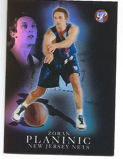 2003-04 Topps Pristine Refractors #166 Zoran Planinic R