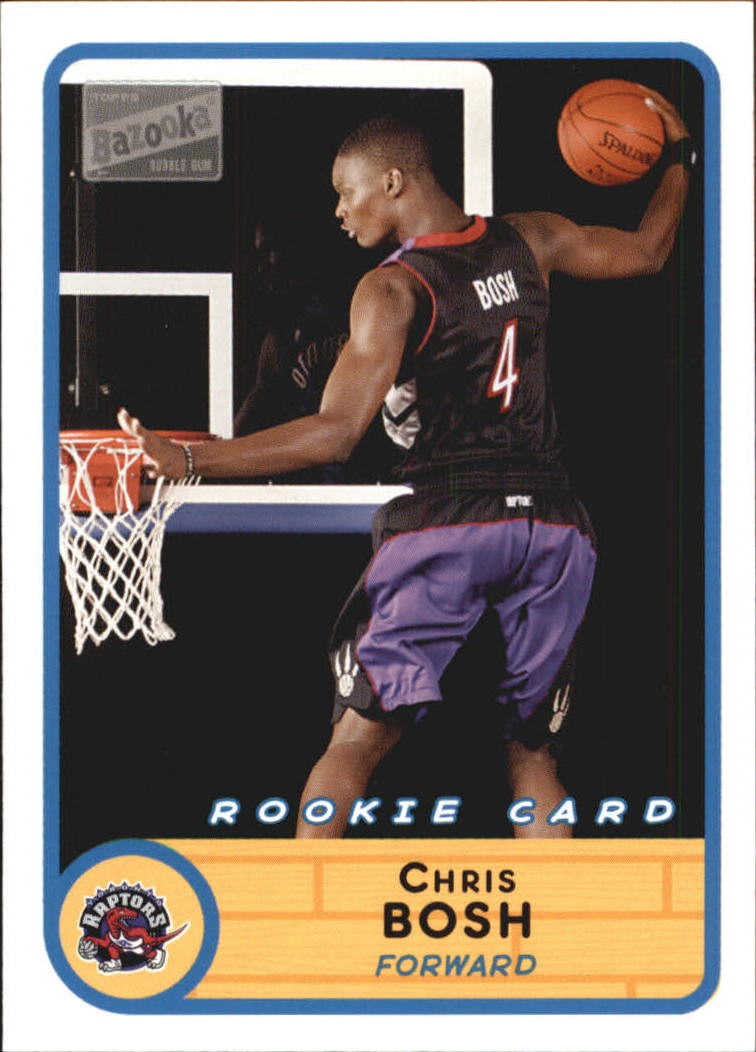 2003-04 Bazooka #228B Chris Bosh Away RC