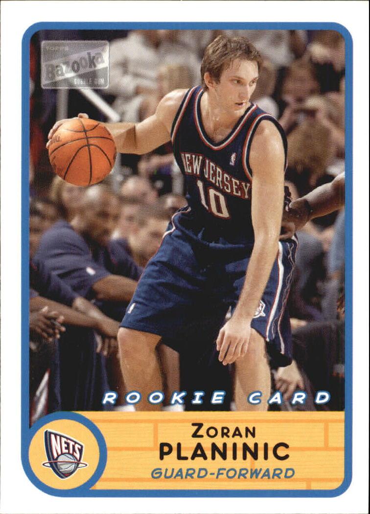 2003-04 Bazooka #242 Zoran Planinic RC
