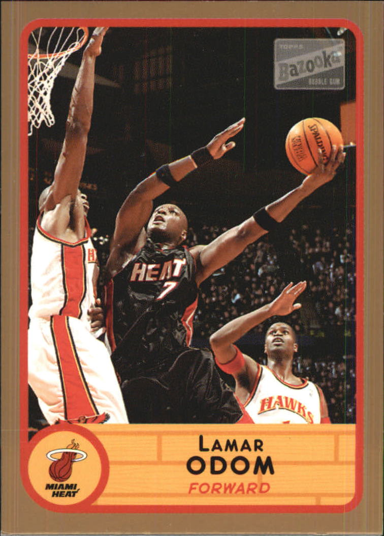 2003-04 Bazooka Parallel #7 Lamar Odom
