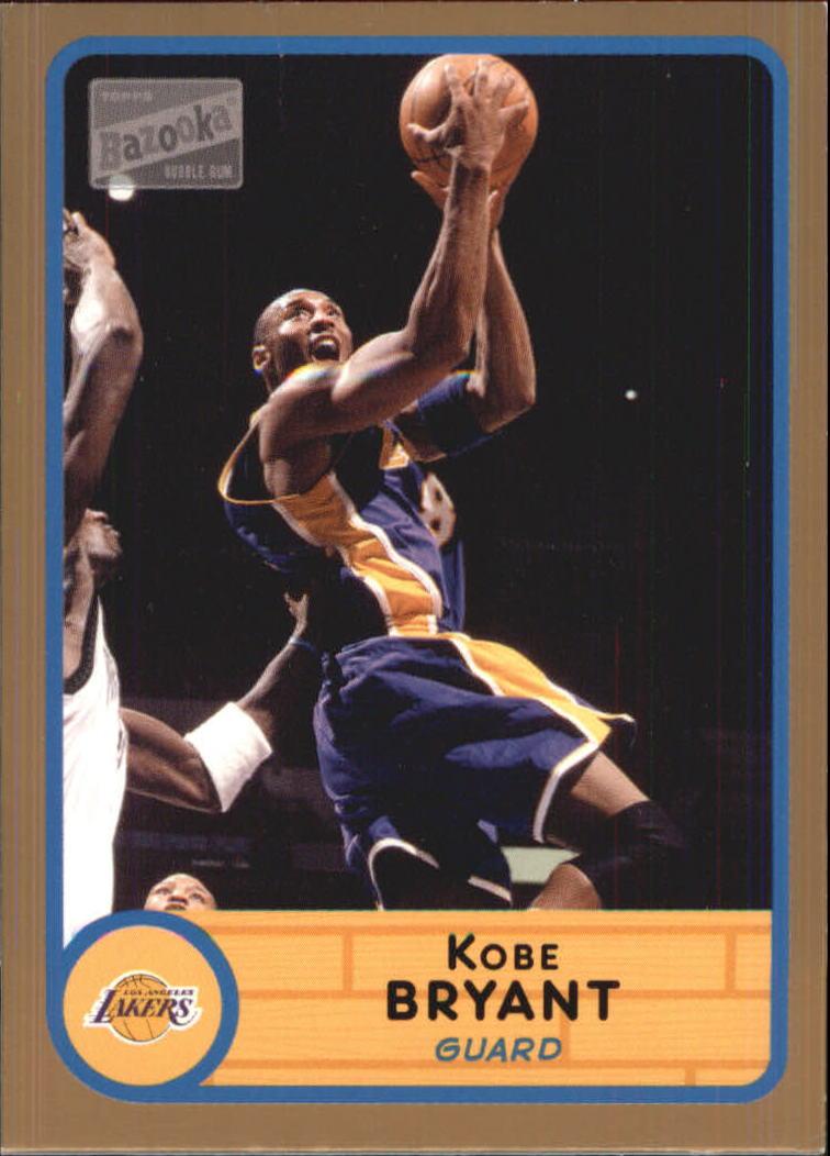 2003-04 Bazooka Parallel #8 Kobe Bryant