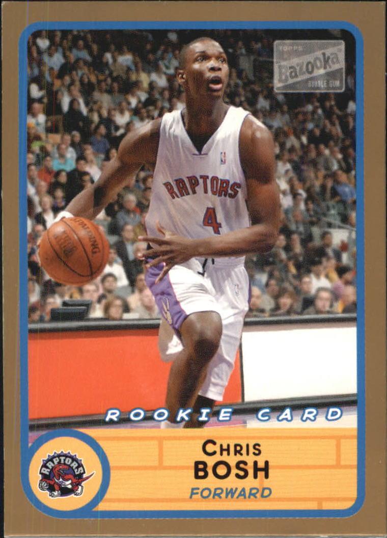 2003-04 Bazooka Parallel #228B Chris Bosh