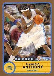 2003-04 Bazooka Parallel #240A Carmelo Anthony