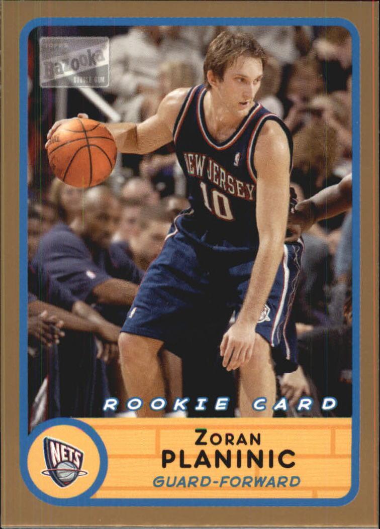 2003-04 Bazooka Parallel #242 Zoran Planinic