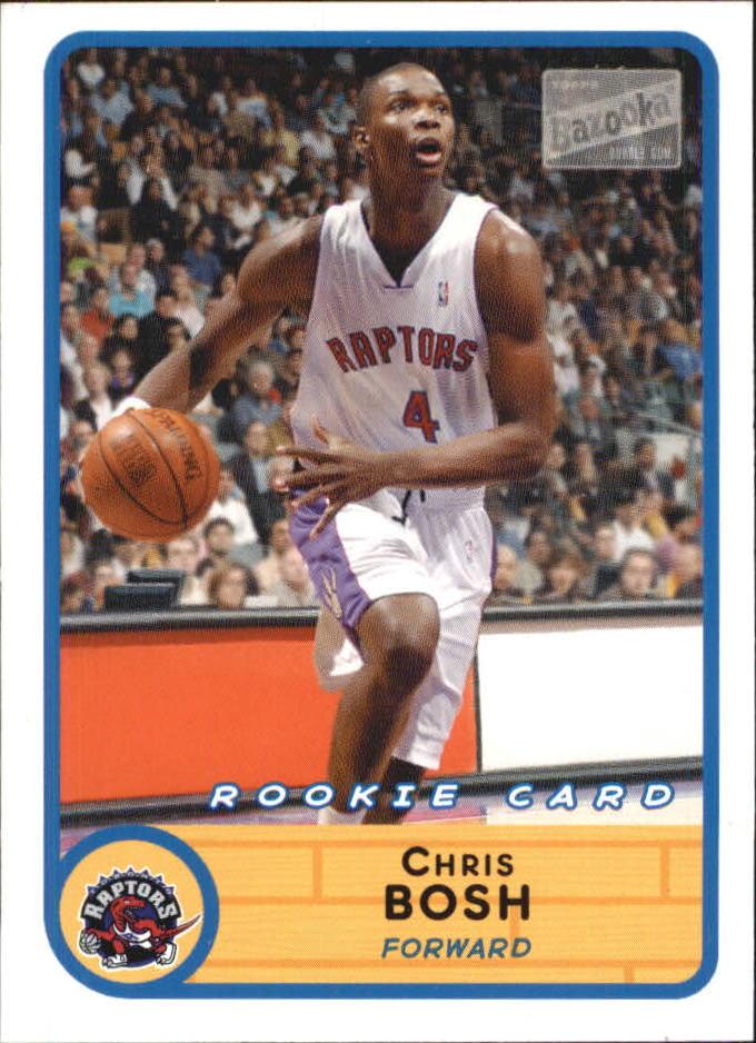 2003-04 Bazooka Mini #228A Chris Bosh