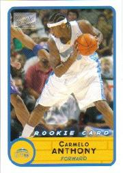 2003-04 Bazooka Mini #240A Carmelo Anthony