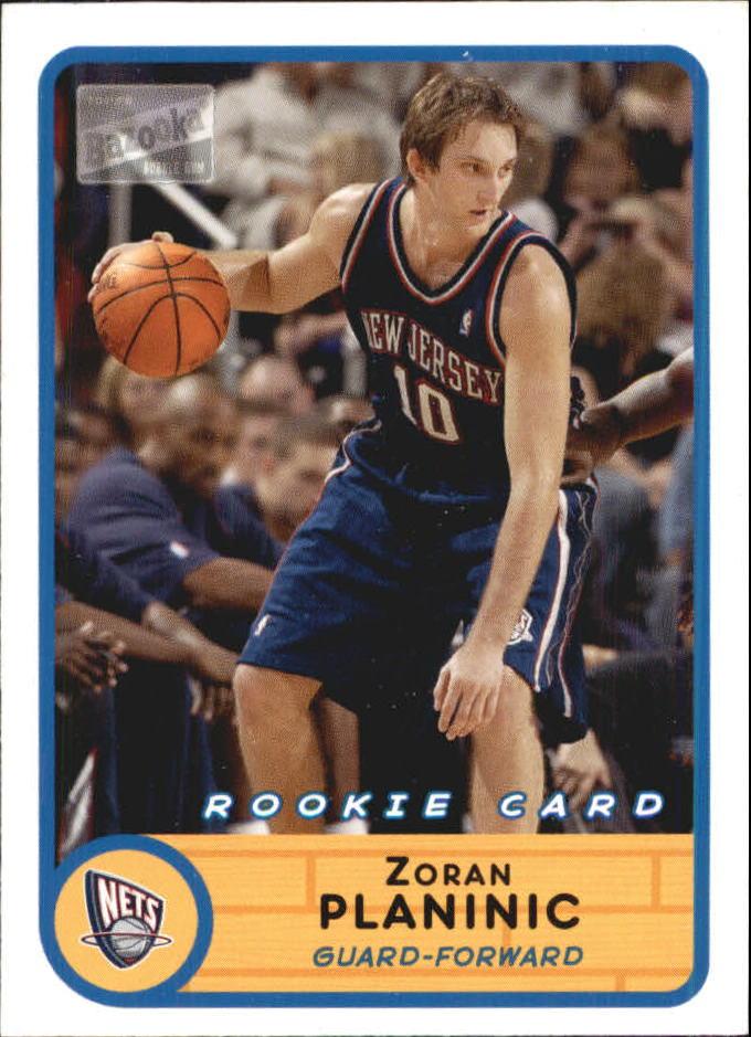 2003-04 Bazooka Mini #242 Zoran Planinic