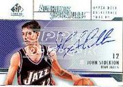 2003-04 SP Signature Edition Signatures #ST John Stockton SP