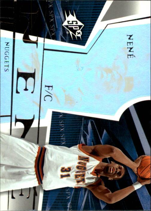 2003-04 SPx #16 Nene