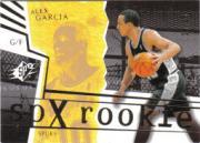 2003-04 SPx Spectrum #150 Alex Garcia