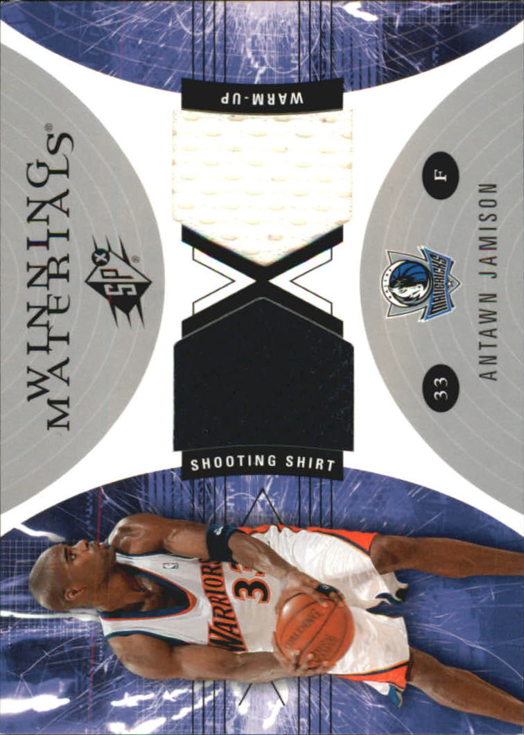 2003-04 SPx Winning Materials #WM29 Antawn Jamison