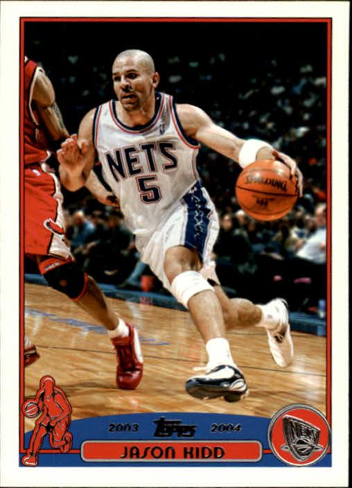 2003-04 Topps #5 Jason Kidd