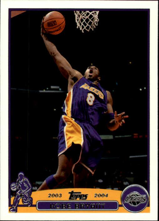 2003-04 Topps #36 Kobe Bryant