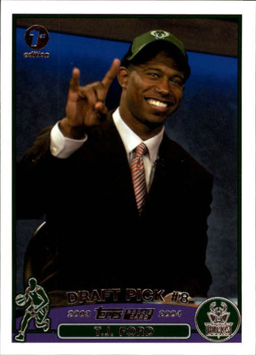 2003-04 Topps First Edition #228 T.J. Ford