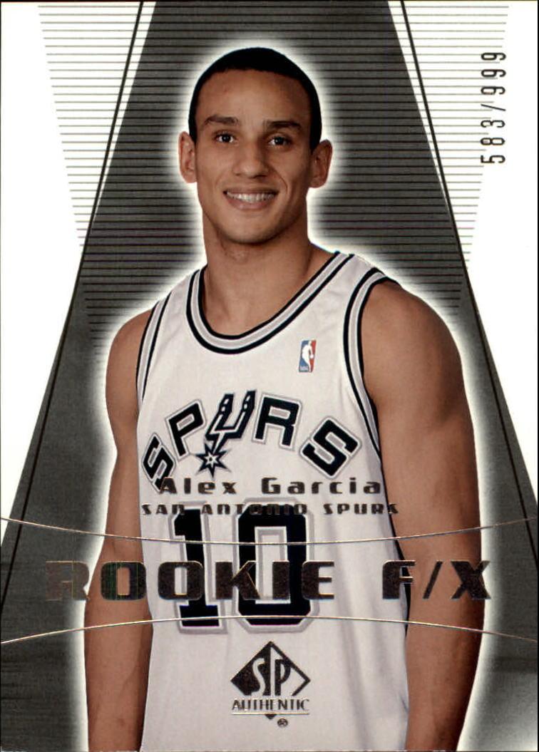 2003-04 SP Authentic #143 Alex Garcia RC