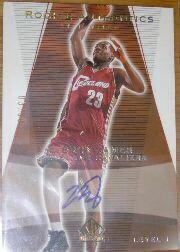 2003-04 SP Authentic Limited #148 LeBron James AU