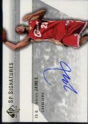2003-04 SP Authentic Signatures #LJA LeBron James SP
