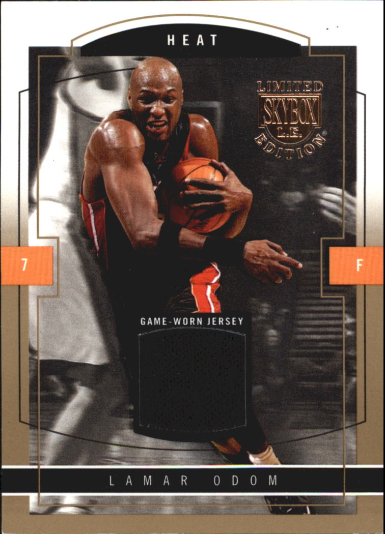 2003-04 SkyBox LE Jersey Proofs 10 #50 Lamar Odom