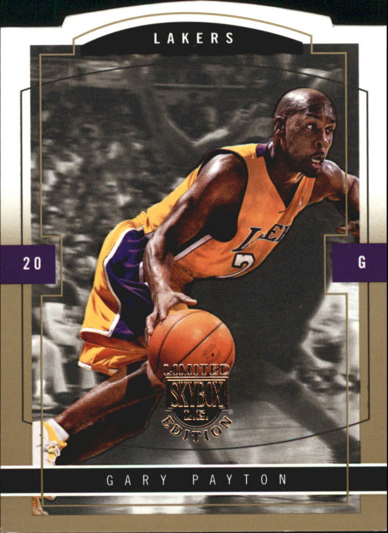 2003-04 SkyBox LE Gold Proofs #15 Gary Payton