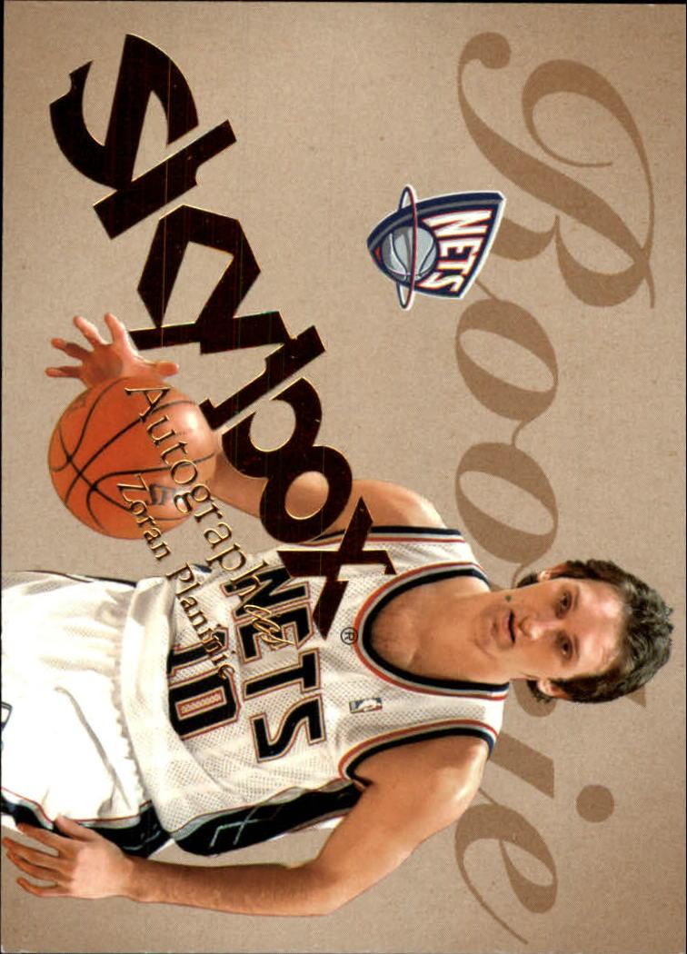 2003-04 SkyBox Autographics #56 Zoran Planinic RC