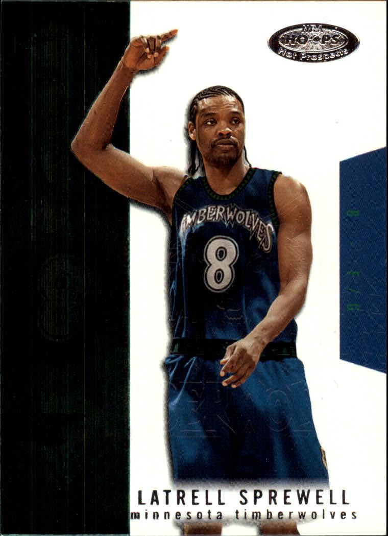 2003-04 Hoops Hot Prospects #9 Latrell Sprewell