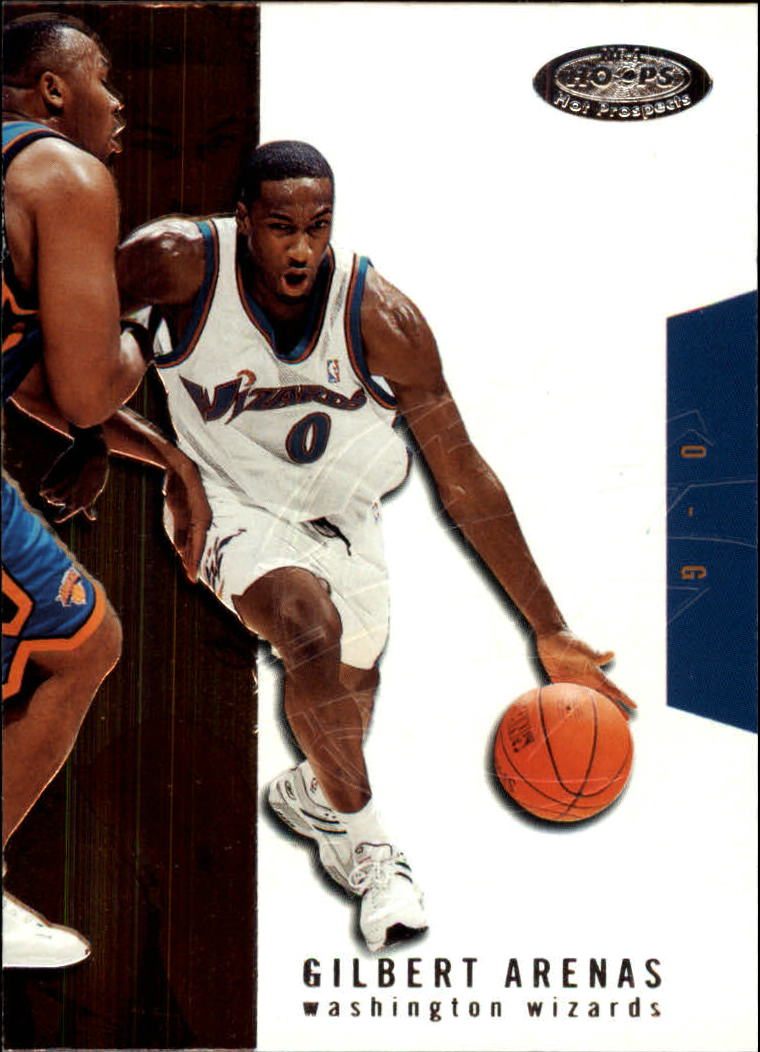 2003-04 Hoops Hot Prospects #22 Gilbert Arenas