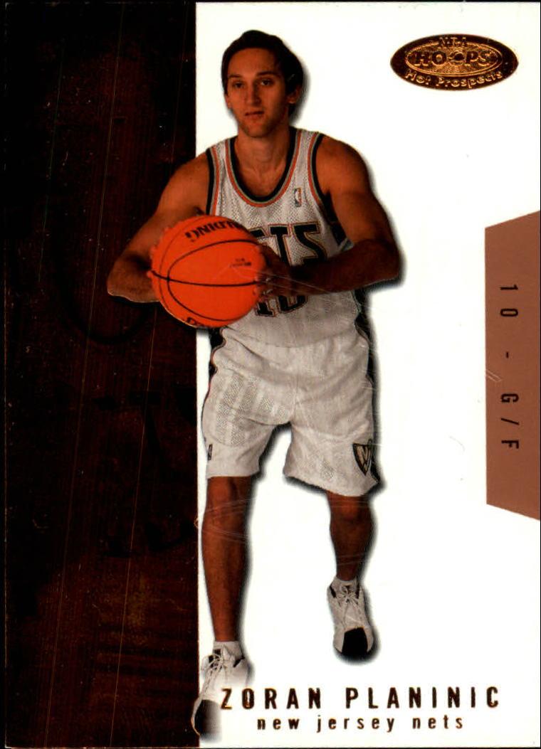 2003-04 Hoops Hot Prospects #114 Zoran Planinic RC