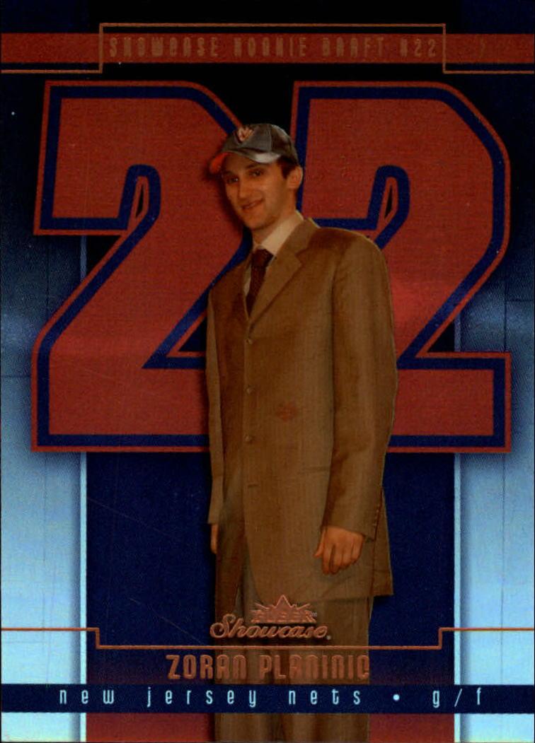2003-04 Fleer Showcase #105 Zoran Planinic RC
