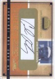 2003-04 Fleer Showcase Sweet Sigs #SGCA Carmelo Anthony/400