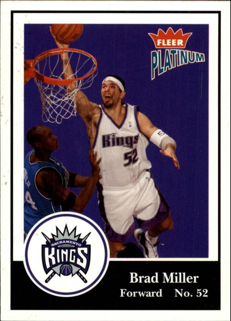 2003-04 Fleer Platinum #2 Brad Miller