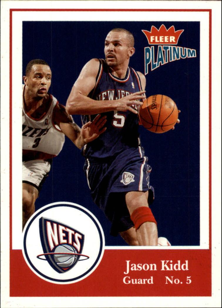 2003-04 Fleer Platinum #3 Jason Kidd