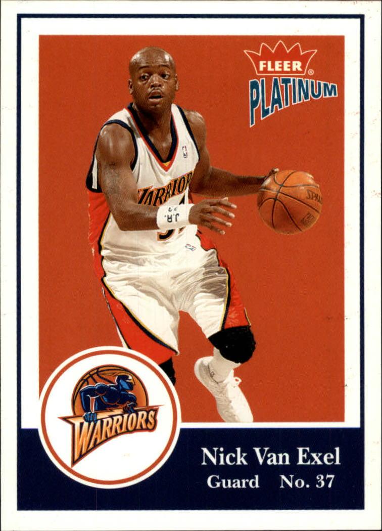 2003-04 Fleer Platinum #4 Nick Van Exel