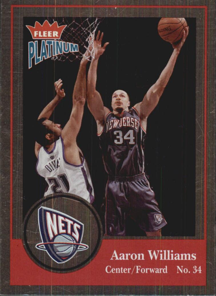 2003-04 Fleer Platinum Finish #136 Aaron Williams