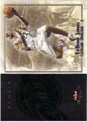 2003-04 Fleer Patchworks #105 LeBron James RC