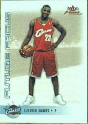 2003-04 Fleer Focus #137 LeBron James RC