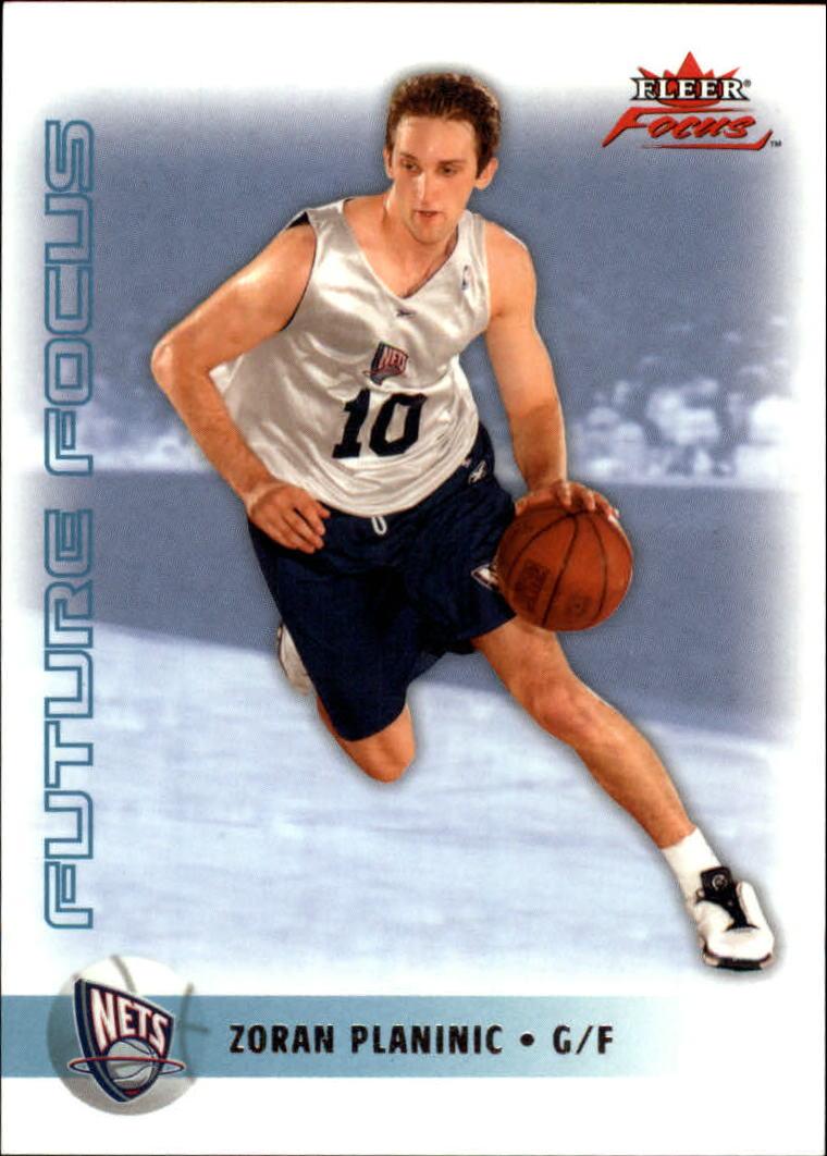 2003-04 Fleer Focus #151 Zoran Planinic RC