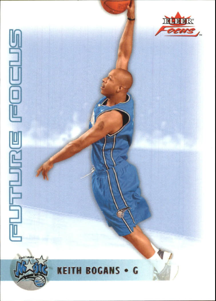 2003-04 Fleer Focus Numbers Decade #122 Keith Bogans