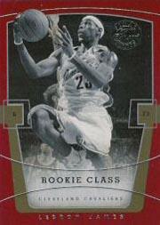 2003-04 Flair Final Edition #75 LeBron James RC