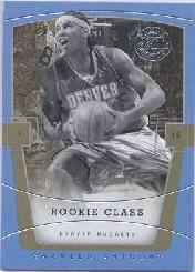 2003-04 Flair Final Edition #83 Carmelo Anthony RC