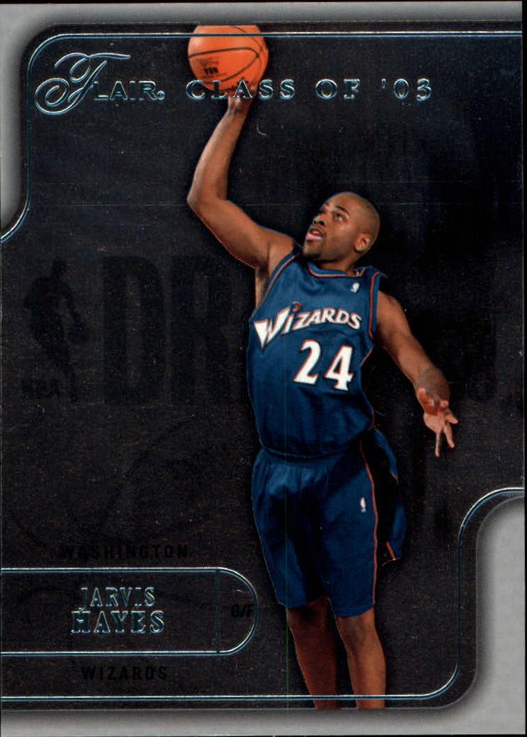 2003-04 Flair #96 Jarvis Hayes RC