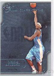 2003-04 Flair #104 Carmelo Anthony RC