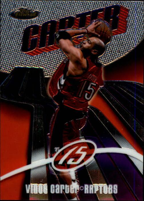 2003-04 Finest #15 Vince Carter