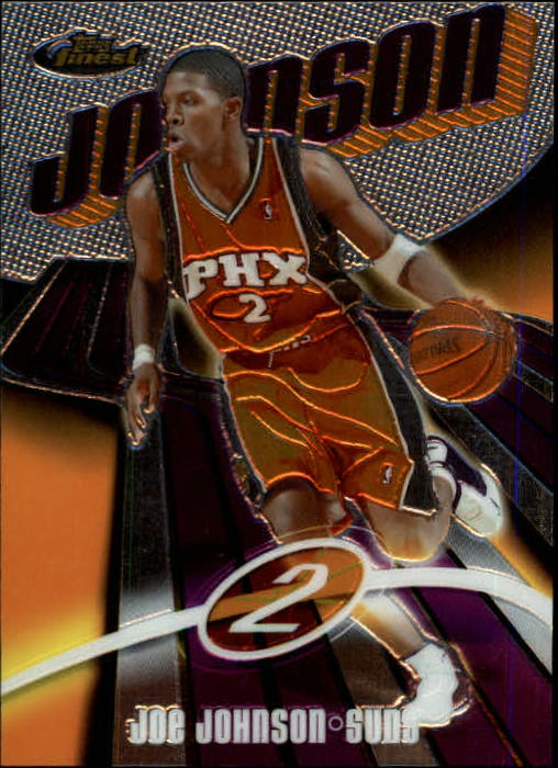 2003-04 Finest #100 Joe Johnson