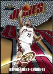 2003-04 Finest #133 LeBron James RC