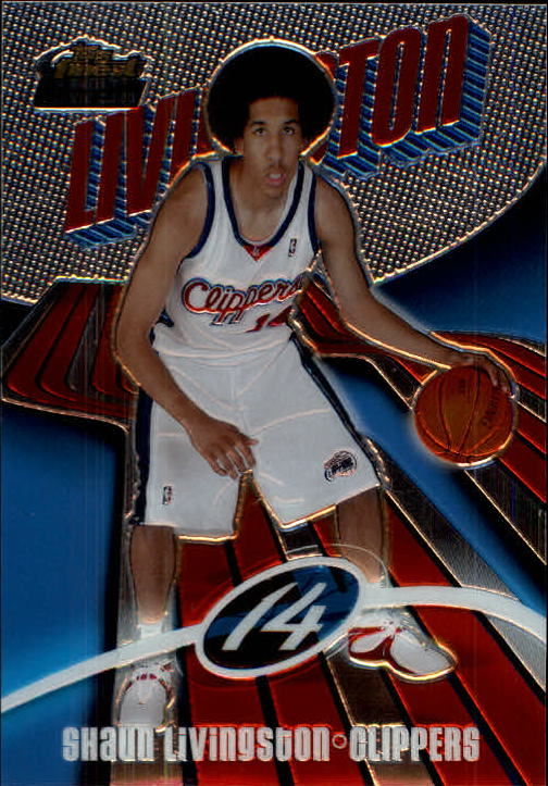 2003-04 Finest #176 Shaun Livingston XRC